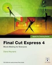NEW - Apple Pro Training Series: Final Cut Express 4 by Weynand, Diana