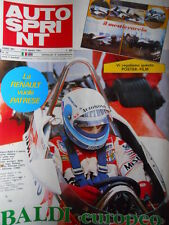 Autosprint n°33 1981 mauro Baldi campione F.3000 [P11]