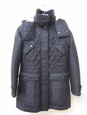 >NEW  BURBERRY BRIT Women Bosworth Quilted Patchwork Coat Size S MSRP $ 895.00
