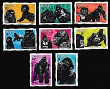 Monkeys Rwandan Stamps