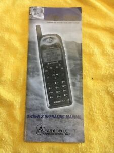 Audiovox CDM-9000 user operating manual guide for cellular wireless phone