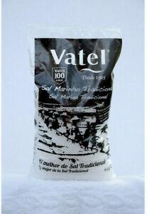 1kg 35.2 oz Unrefined NATURAL SEA SALT Culinary  coarse