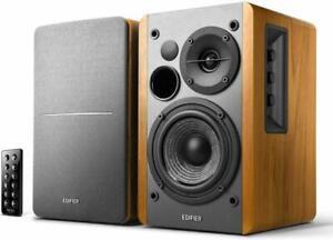 Edifier R1280DB Active Remote Control Bookshelf Studio Bluetooth Speaker - Brown