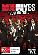 Mob Wives : Season 5 (DVD, 2016, 4-Disc Set) (Region 4) Aussie Release