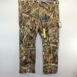 Real Tree EDGE Scent Control Mens Cargo Pants Camo Camouflage 3XL Waterproof