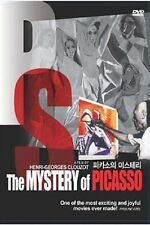 The Mystery of Picasso - Henri-Georges Clouzot (1956) - DVD new