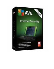 AVG Internet Security 2018 - 3 PCs / 2 Year Coverage