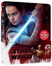 Star Wars - Gli Ultimi Jedi (Blu-Ray 3D+Blu-Ray) (Limited Steelbook) WALT DISNEY