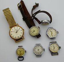 Group of Mechanical Watches Movements for Parts Steampunk  Etc LAYBY