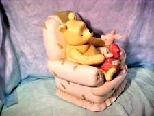 CLASSIC POOH BANK DISNEY LARGE POOH & PIGLET BANK MICHEL & CO PIGLET HUNNY POT