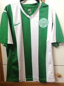 2007-09 Ferencvaros Hungary Nike Home Football Jersey Shirt Trikot Size L