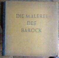 Die Malerei des Barock Antik selten Cigaretten-Bilderdienst 1940  komplett antik