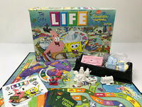The Game of Life Spongebob Replacement Parts Pieces Tokens Cards Spinner Tiles