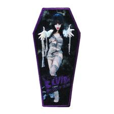 "Macabre Mummy ""Elvira: Mistress of the Dark"" Iron-On Patch Horror Fan Applique"