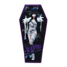 "Macabre Mummy ""Elvira: Mistress of the Dark"" Iron-On Patch Horror Fan Applique"