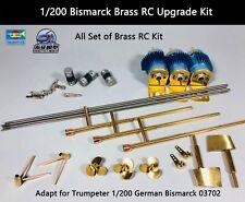 Trumpeter 1/200 Bismarck Brass RC Upgrade Kit