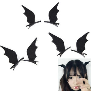 Devil Wings Bat Wings Hair Clip Cosplay Halloween Dress-up Costume Accessor LTCA