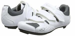 2019 Giro Techne Cycling Shoes - Women's White/Silver - 39 EU / 7.5 US