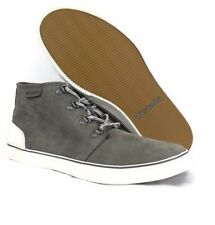 COLUMBIA NIB Gray Quarry Sea Salt Crankbait Chukka Leather Shoes Mens Sneakers