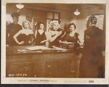 Cleo Moore Isobel Elsom Over-Exposed 1956 original movie photo 29281