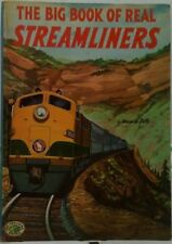 THE BIG BOOK OF REAL STREAMLINERS by George Zaffo, Big Treasure Books, HC, 1953