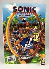 Sonic the Hedgehog The Beginning TPB 0 1 2 3 1993 w/ Tails Action Figure FREESH