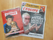 Journal l'Equipe + Magazine - 21 Juillet 2018 - Coupe du monde - Pavard