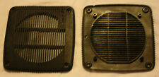 1 Pair: Spec II Grilles for 4-Inch Speakers, Black