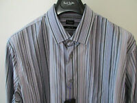 "Paul Smith LONDON MULTISTRIPE SLIM FIT 16.5"" Eu 42 EXTREMELY RARE SHIRT RRP £209"