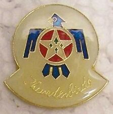 Hat Lapel Push Tie Tac Pin USAF Thunderbirds emblem NEW