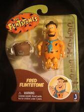 Hanna Barbera Flintstones Fred with Buffalo Hat 3 Inch Action Figure MINT