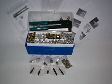 515 Piece Rivet Nut Nutsert Blind Insert Tool Kit M3 to M10 (pulls M8 Steel)