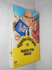 PARKER PYNE INDAGA Agatha Christie Mondadori 1994 Oscar gialli 94 libro giallo