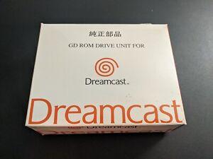 Official OEM Sega Brand GD Rom Drive Unit for Sega Dreamcast new w box unused.