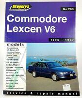 Gregory's Commodore Lexcen V6 95 - 97 Service & Repair Manual No. 268 VGC