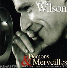 CD audio.../...LAMBERT WILSON.../...DEMONS & MERVEILLES......