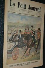 Le petit journal Supplément illustré N°603 / 8-6-1902 / Président en Russie