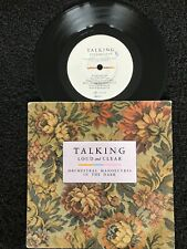 Orchestral Manoeuvres In The Dark (OMD) - Talking Loud And Clear 7'' Vinyl VG+