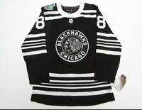 Authentic Winter Classic Chicago Blackhawks #88 Kane Hockey Jersey New Mens L