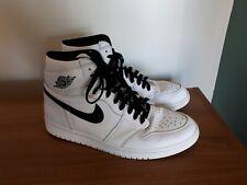 Nike Air Jordan Black/White Hi Top Trainers Mens (UK size 11)