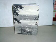 New listing The Saga Of Lake Tahoe - 1957 - Signed - First Edition - Odj