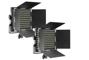 Neewer Professional 660 Bi-Color LED Video Light Lighting Kit (Set of 2)