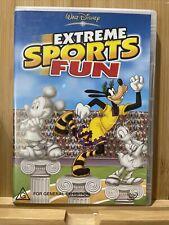 Extreme Sports Fun Dvd Region 4 Rare Disney