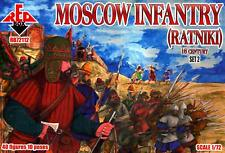 Red Box Models 1/72 MOSCOW INFANTRY RATNIKI 16th Century Figure Set #2