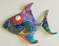 Fish Resin Art Beach Ocean Sea Theme Home Decor Wall Sculpture Picture Kids