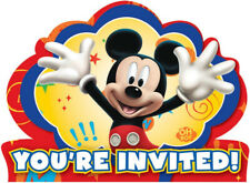 Mickey Mouse You're Invited Invitations & Envelopes Pack of 8