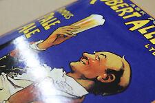 Plaque Emaillée Nostalgique Robert Allen & Co 20x33 cm.