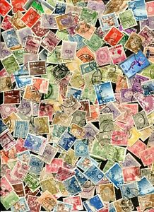 x357 - JAPAN Collection of 350+ Used Stamps. Older. Searcher's Lot, postmarks