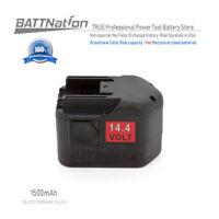 14.4V 14.4 VOLT NI-CD Battery for MILWAUKEE 48-11-1014 48-11-1000 48-11-1024