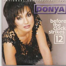 Donya-Before The Clock Strikes 12 cd single Nationaal Songfestival 1999